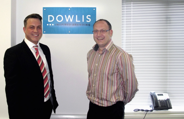 Managing Director David Lynn (l) und Marketing and Business Development Manager Nic Taylor.