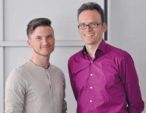 Marius Ahlborn (l) und Oliver Gaa.