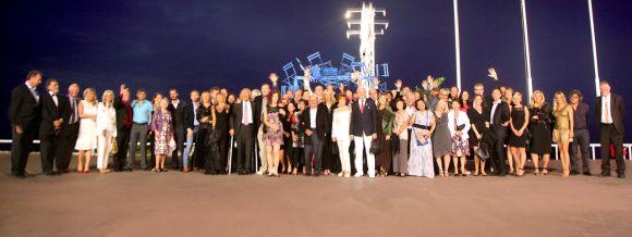 Ippag-Gruppenbild zum 50-jährigen Jubiläum der internationalen Händlervereinigung.