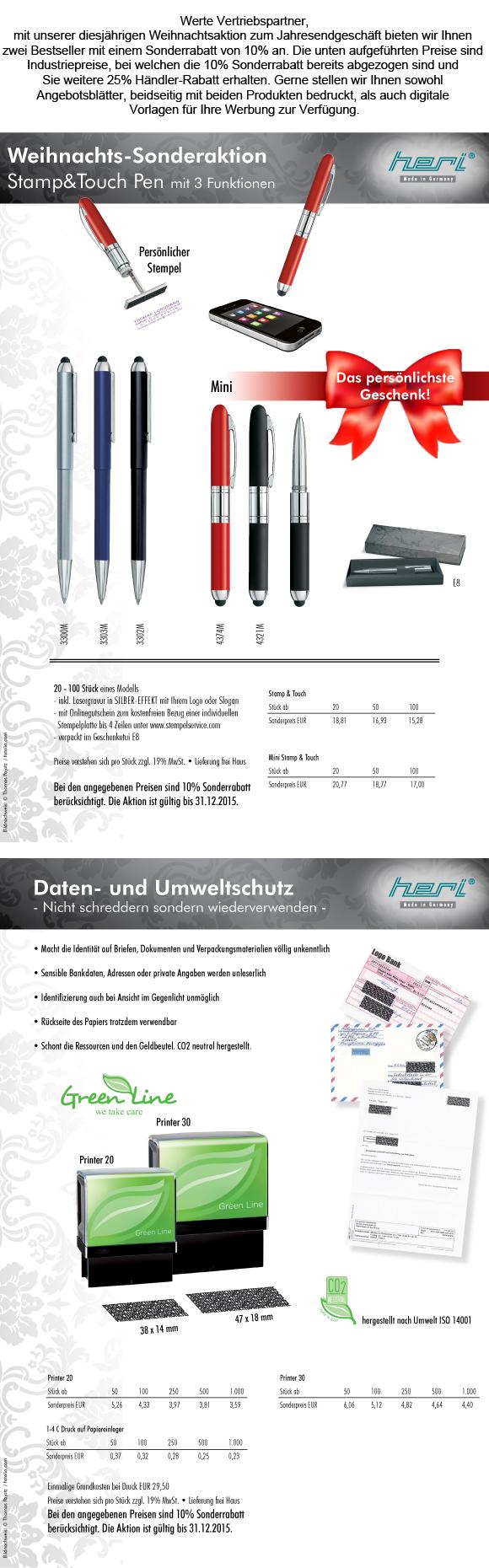 Weihnachtsaktion_NL 529 und 530