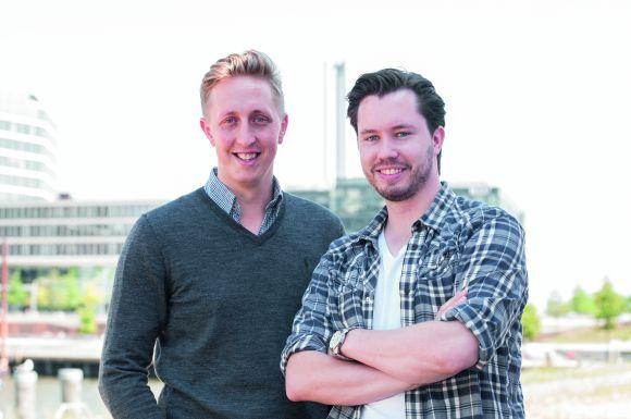 Gordian Madsen (l.) und Max Konrad unterstützen mit ihrem Hamburger Start-up Foodvibes regionale Food-Manufakturen dabei, ihren Bekanntheitsgrad zu steigern.