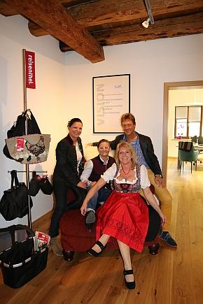 Das Team von crimex München (v.l.): Ulrike Meyer, Nadine Bischof, Petra Pantke und Harald Wilfer.