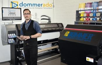 Christian Billmann, Bereichsleiter Marketing und Online Business bei der Dommer Stuttgarter Fahnenfabrik.