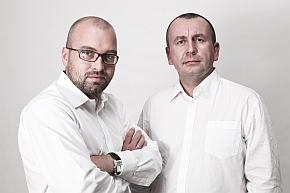 Szczepan Siatecki (l) und Krzysztof Żejmo.