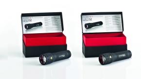 Der LED Lenser P7.2 von Zweibrüder – links das Original, rechts die Fälschung.