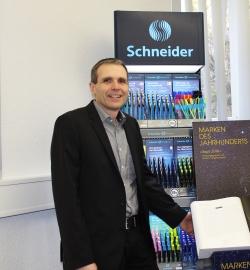 Frank Groß, Geschäftsführer von Schneider Schreibgeräte.