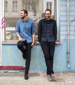 Jens Hoffmann (l) und Erik Pfauth bringen die Berliner Barkultur ins heimische Wohnzimmer.