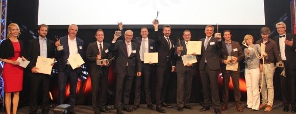 Die Preisträger der PSI Sustainability Awards 2016.