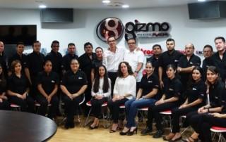 Das neue Trotec-Team in Mexiko.