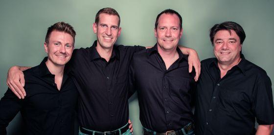 Das vierköpfige Vertriebsteam (v.l.): René Boss, Benjamin Rank, Axel Pfenning und Christoph Löw.