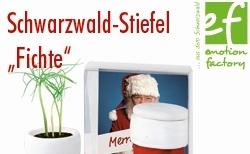 """580 herivorschau - emotion factory: Schwarzwald-Stiefel """"Fichte"""""""