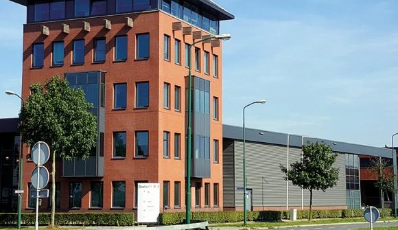 Der Sitz der europäischen Niederlassung von Epilog Laser in der Nähe von Utrecht.
