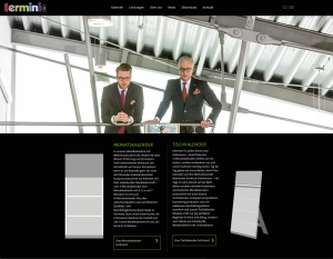 terminic Website Relaunch web - Terminic: Website Relaunch