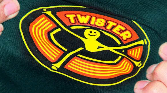 Twister - Siebdrucktransfer auf Stretch und Softshell