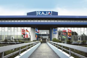 RAJA Headquarter Paris - Raja Group: 6% Umsatzwachstum