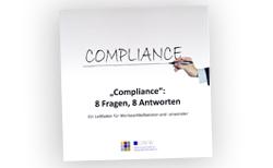 complienc leitfaden cover - GWW: Compliance-Leitfaden erschienen