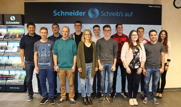 Schneider 580 - Schneider: Neue Azubis und Studenten