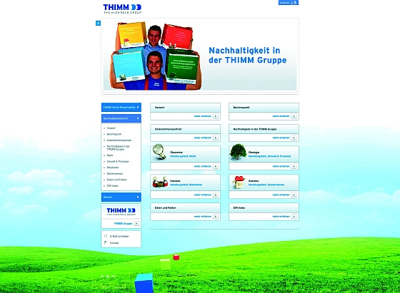 Nachhaltigkeitsbericht cTHIMM - Thimm veröffentlicht Nachhaltigkeitsbericht