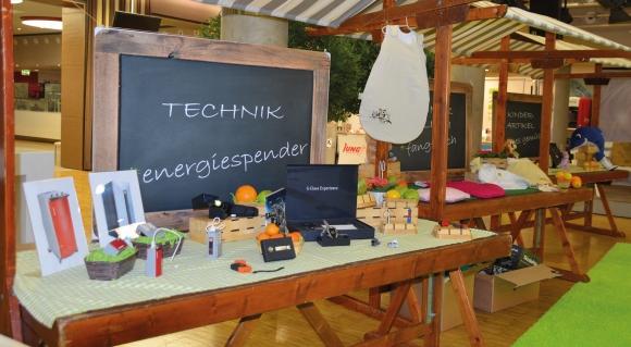 Sonderausstellungen zu verschiedenen Themenbereichen rundeten die Produktschau ab. (Bildquelle: kolibri GmbH)