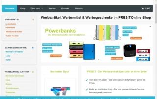 Presit OnlineShop 320x202 - WER: Neuer Online-Shop