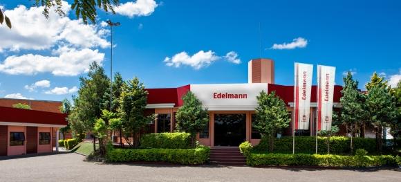 Mit dem Erwerb des Unternehmens Sulgrafica im Februar 2015 verstärkt Edelmann seine internationale Präsenz mit einem weiteren Standort in Brasilien.