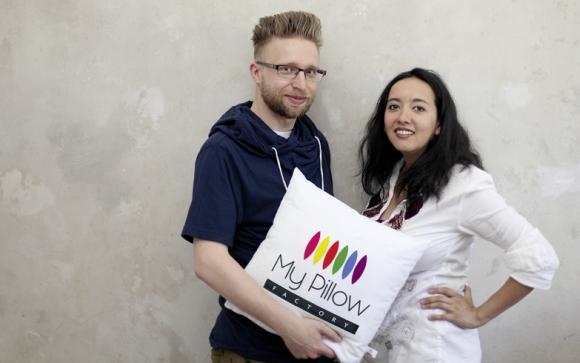 Sebastian und Yulia Donath gründeten das Start-up mit Kuschelfaktor.