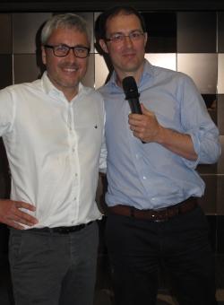 Der scheidende und der neue Ippag-Präsident: Søren Langhoff (l) und Thibaut Fontaine.
