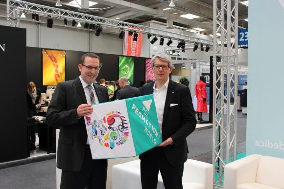 Kooperation beendet: Arno Reich (l), Abteilungsleiter der Deutschen Messe, und Michael Freter, Managing Director PSI, gehen künftig wieder getrennte Wege.