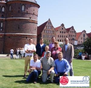 Beim fachlichen Austausch genossen die Teilnehmer des 45. Treffens der Intercreator-Gruppe die sommerlich hanseatische Atmosphäre in Lübeck.