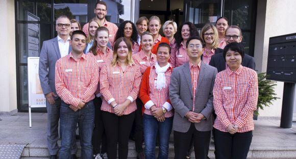 Das Team von Bartenbach Werbemittel stand für Beratungsgespräche bereit.
