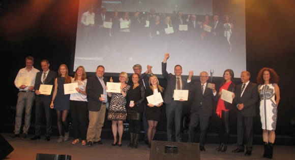 Die Gewinner der PSI Sustainability Awards 2015.