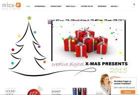 mix media hp - micx-media: Neuer Internetauftritt
