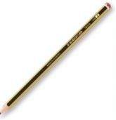 In fünf verschiedenen Härtegraden bietet der Bleistift Noris 120 von Staedtler zertifizierte Qualität für Schule und Büro.