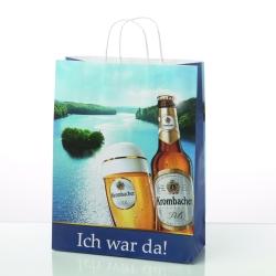 Die TopStar/Offset-Tragetasche von Bags by Riedle bietet feinsten Fotodruck und ist FSCzertifiziert.
