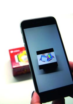 Augmented Reality: Immer mehr Werbeartikler erweitern ihre Produkte um digitale Inhalte mithilfe entsprechender Schnittstellen
