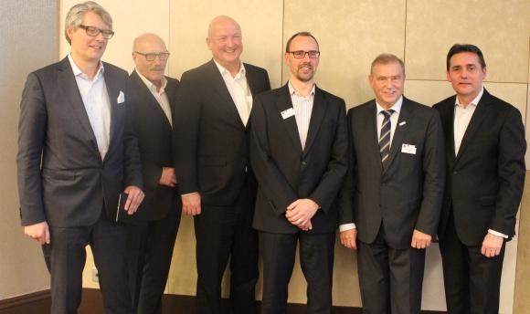 Der neue GWW-Vorstand. V.l.: Michael Freter, Manfred Schlösser, Jürgen Geiger, Ronald Eckert, Patrick Politze und Frank Dangmann.