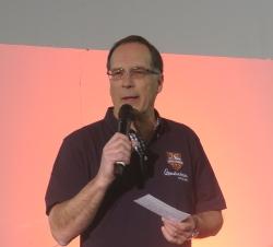 Michael Hagemann, Promo Event, hieß die Lieferanten herzlich Willkommen.
