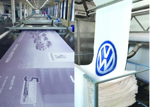 Zu den Kunden der Bofa-Doublet GmbH gehören namhafte Unternehmen wie Peugeot und VW.
