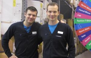 Gilles Brunin (l) und Jacob Bertelsen.