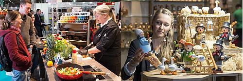 Neben bekannten Marken zeigten auch Holzkunsthersteller aus dem Erzgebirge ihre Produkte.