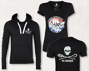 Für die Umweltschutzorganisation Sea Shepherd produziert Brands Fashion eine Kollektion aus GOTS-zertifizierter Biobaumwolle.