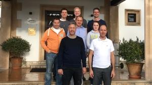 Die Teilnehmer des diesjährigen Unternehmerseminars auf Mallorca.