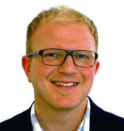 Björn Börsch ist als Key Account Manager im Außendienst Ansprechpartner für den Bereich Werbeartikel.