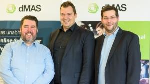 V.l.: Chief Branding Officer Othmar Fetz, CEO Markus Tückmantel und Projektmanager Clemens Stübler.