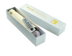 doppler bietet auch für Schirme der Kultmarke Knirps vielseitige Veredelungen und Sonderanfertigungen