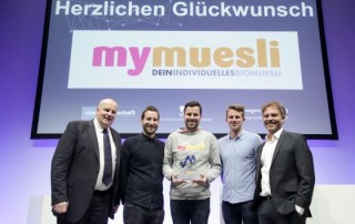 myMuesli gewnner 320x202 - mymuesli gewinnt Deutschen Marketing Preis 2016