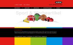 Albene: Neue Website