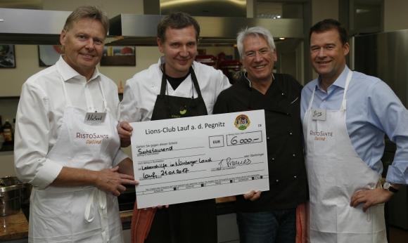 Rudi Raab: Kochabend bringt 6.000 Euro