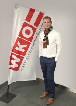 SebastianPass WKO gross - Wirtschaftskammer Österreich stärkt Werbeartikelhandel