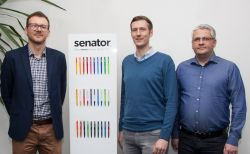 Senator begrüßt drei neue Mitarbeiter